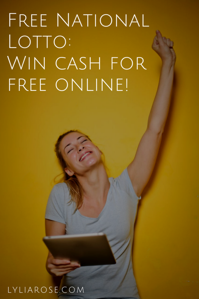 Free National Lotto_ Win cash for free online!