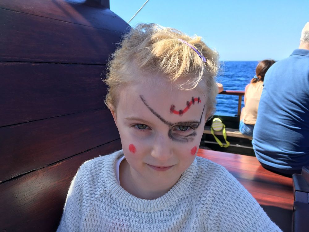 Is Fuerteventura a family friendly holiday destination - Bella pirate tour