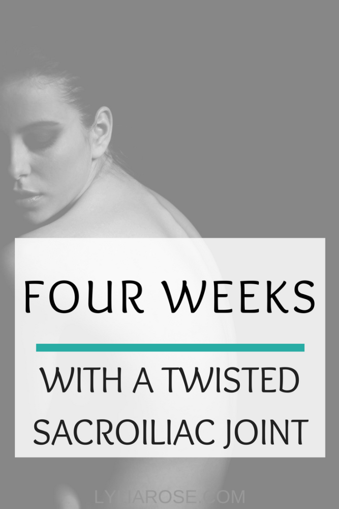 Four weeks with a twisted sacroiliac joint – my second osteopath appointmen