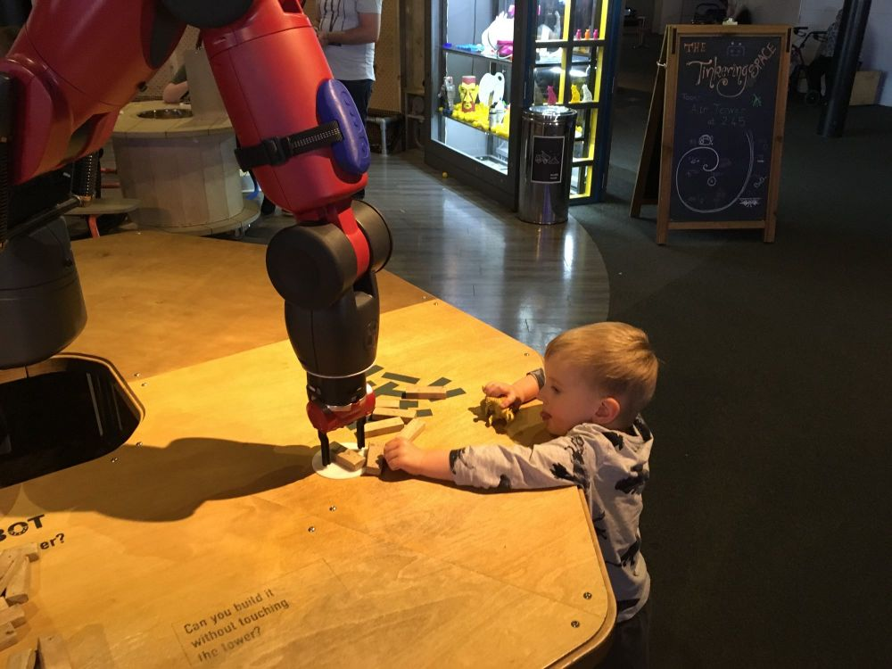 We the curious bristol interactive science museum blog review family parent