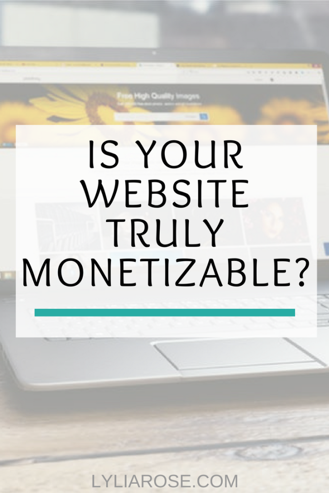 Is Your Website Truly Monetizable_