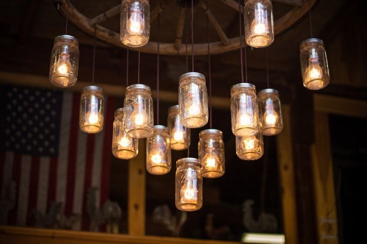 Eco-Friendly Design Ideas for Your Garden this Summer mason Jar Lights