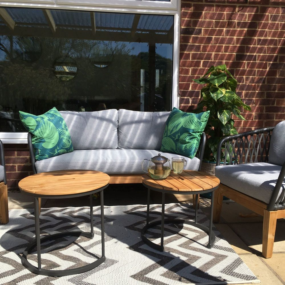 How we are creating the perfect patio outdoor seating area 1