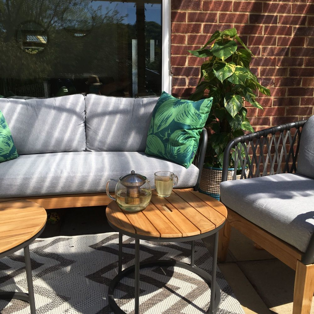 How we are creating the perfect patio outdoor seating area 2