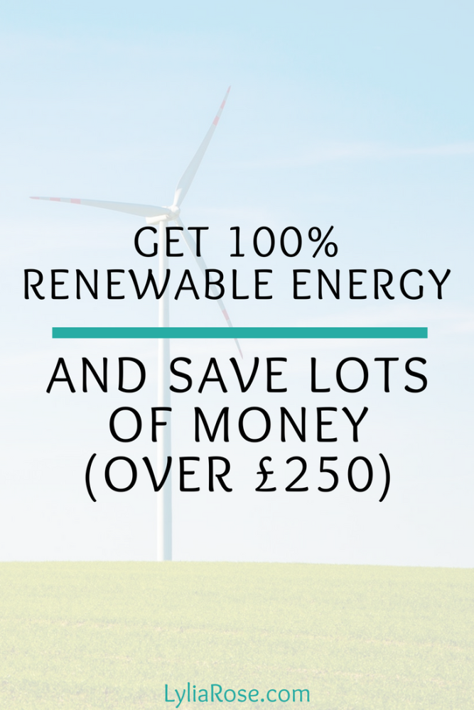 Get 100% renewable energy with Bulb and save lots of money (over £200)