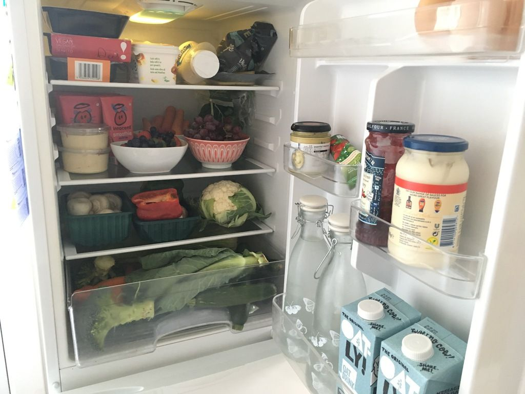 What's in our family fridge Two years on Healthy Vegan Living Blog