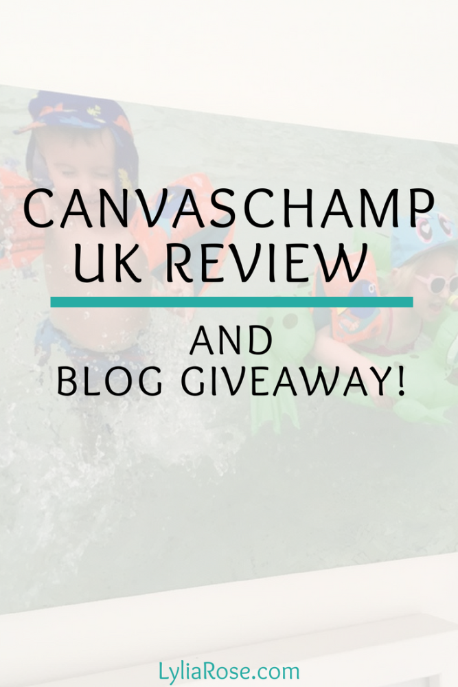 CanvasChamp UK Review and Giveaway_ Perfect cheap prints to create a memory