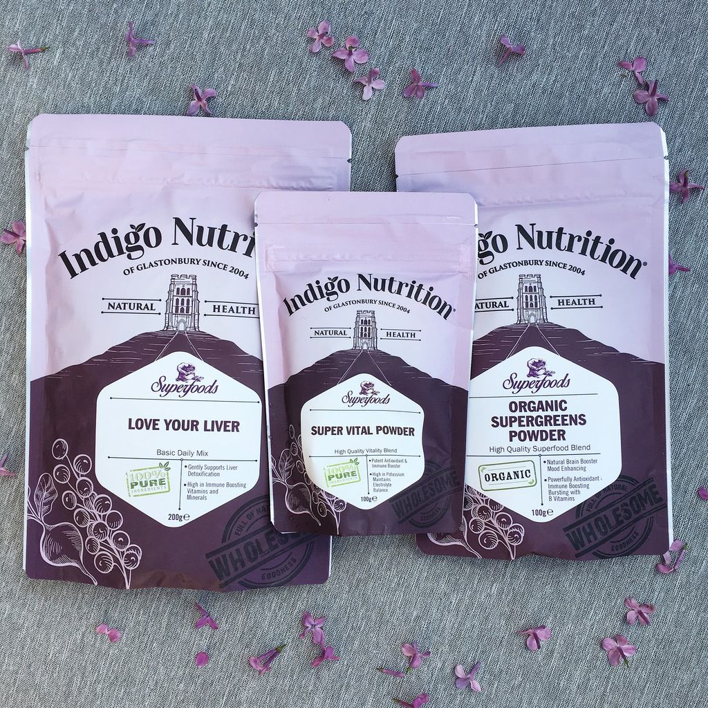 Indigo Herbs Superfood Powder Blends Review and Vegan Berry Smoothie Bowl R