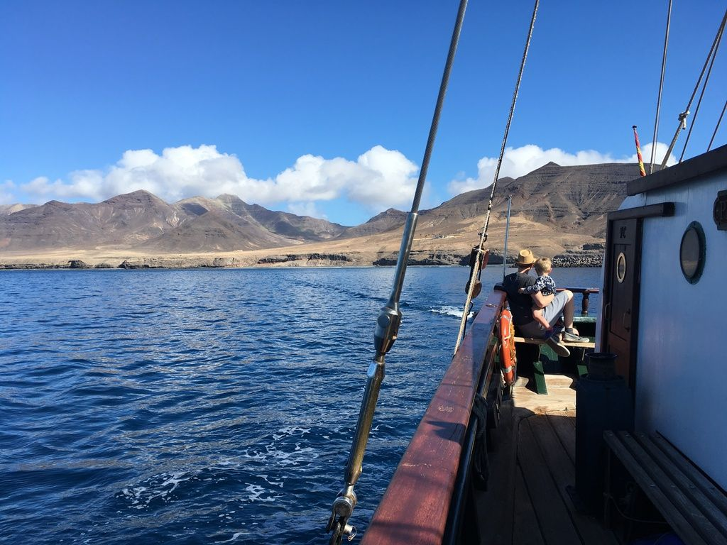 Review Pirate Tour aboard the Pedra Sartaña in Morro Jable Fuerteventura