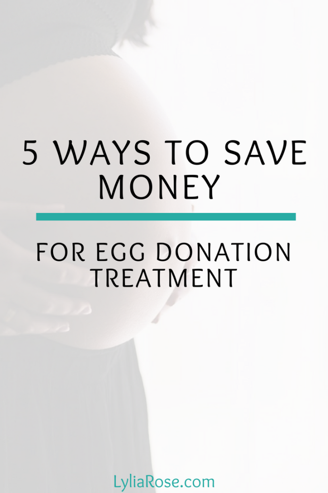 5 Ways to Save Money for Egg Donation Treatment