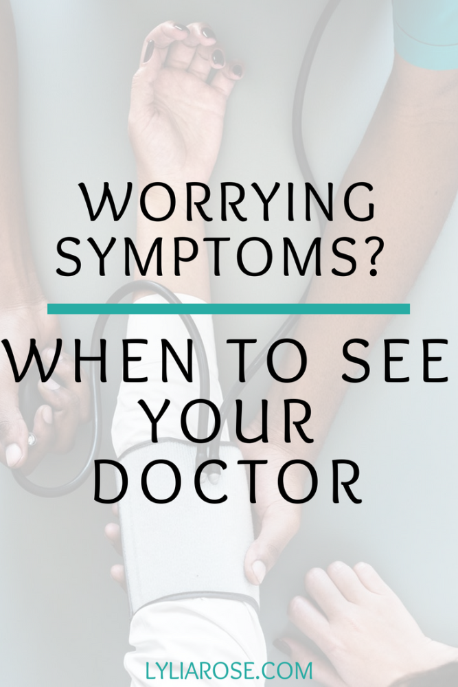 Worrying Symptoms_ When to See Your Doctor