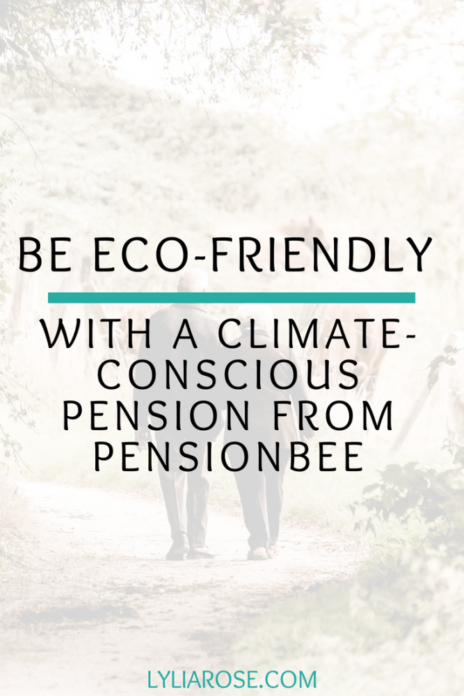 Be eco-friendly with a climate-conscious pension from PensionBee