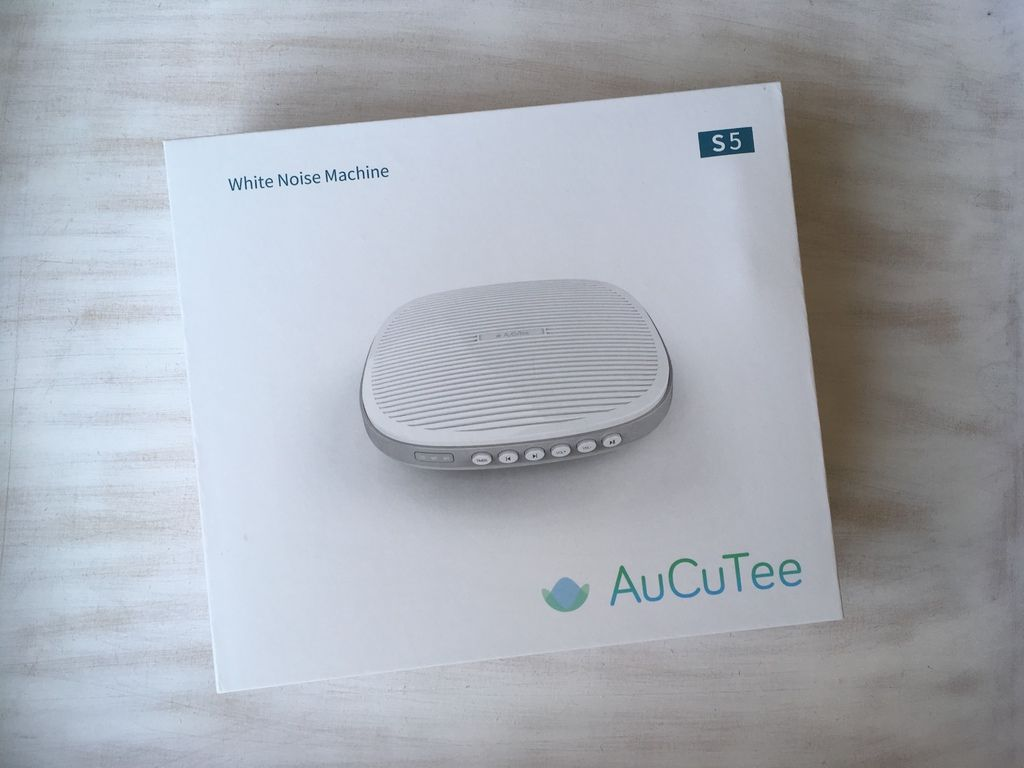 AuCuTee S5 Sleep Therapy White Noise Machine Review and Discount Code packa