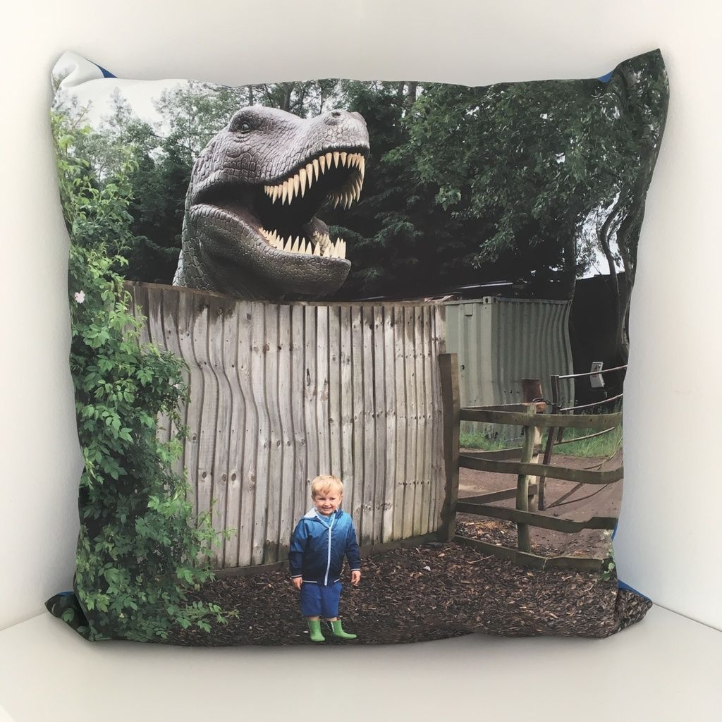 Boys bedroom décor MyPicture personalised photo cushion review