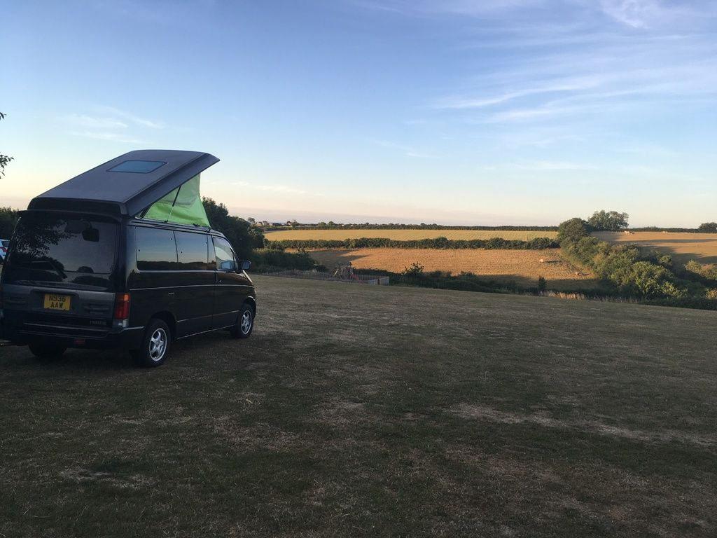 Branscombe Airfield and Campsite review and travel diary