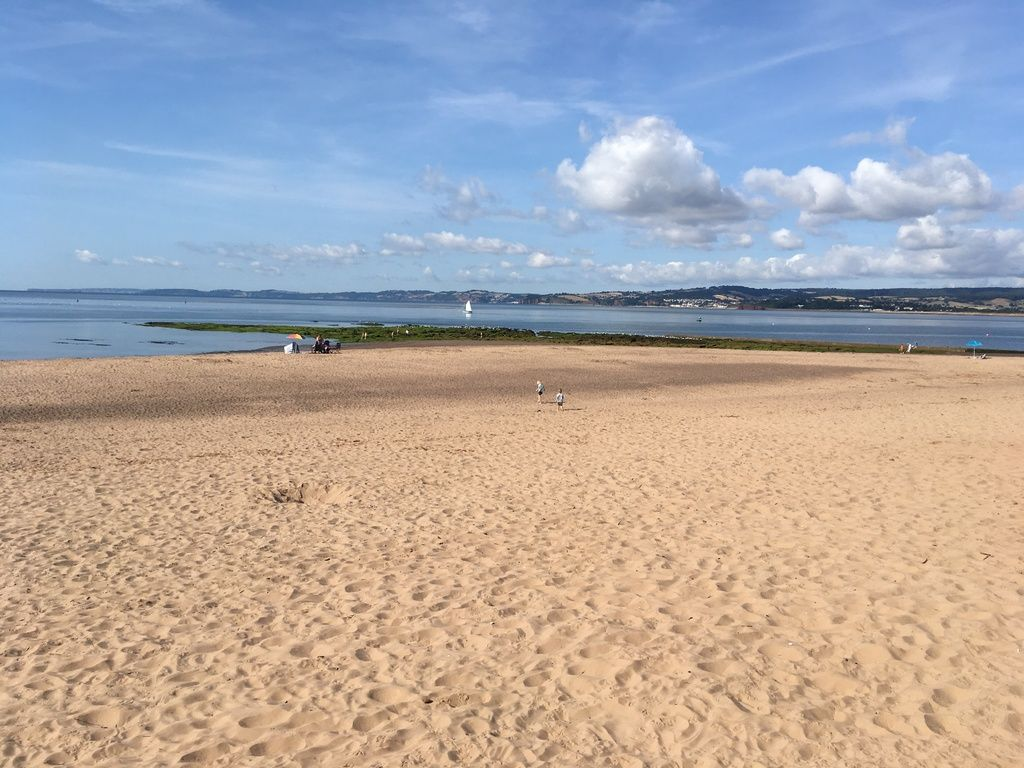 Branscombe Airfield and Campsite review and travel diary - exmouth sandy be