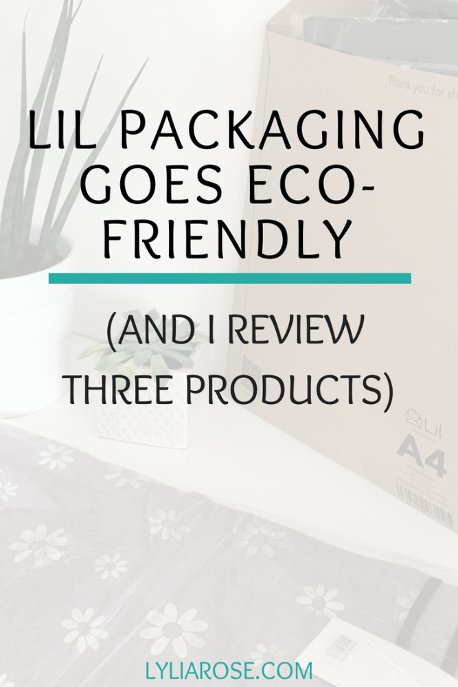 Lil Packaging goes eco-friendly with their ecommerce packaging range (and I