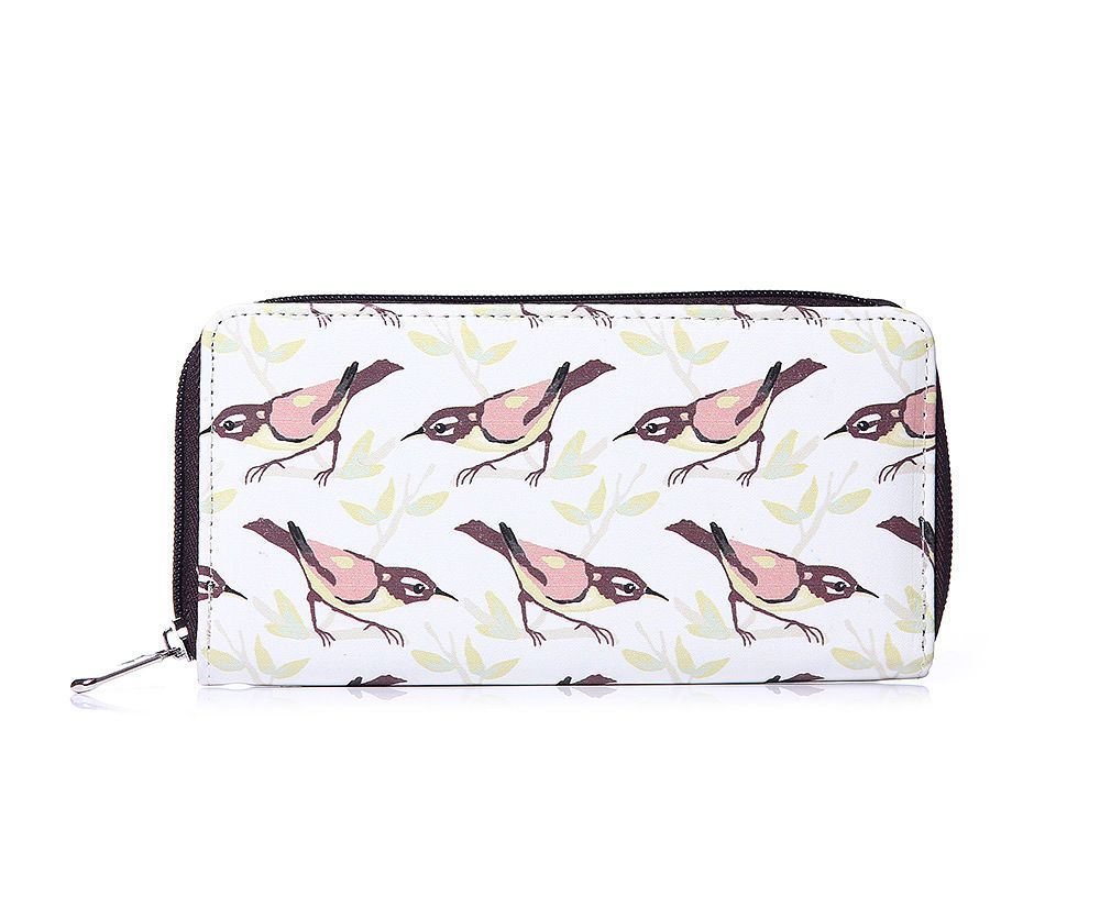 blog giveaway - win a bird print purse from the lylia rose boutique