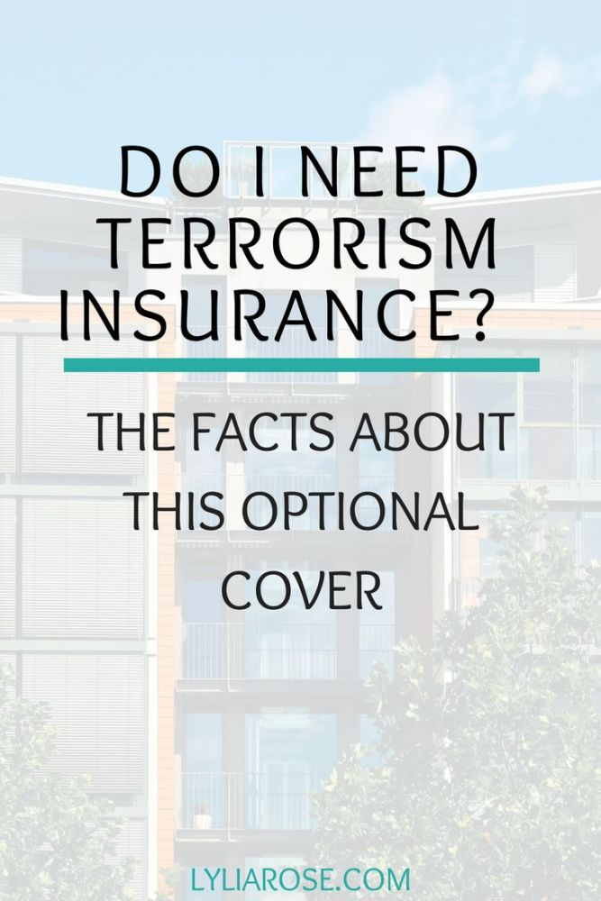 Do I need terrorism insurance_ The facts about terrorism insurance cover.