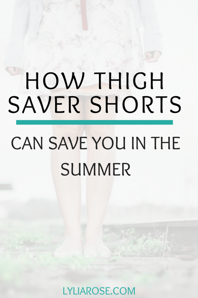 How thigh saver shorts can save you in the summer