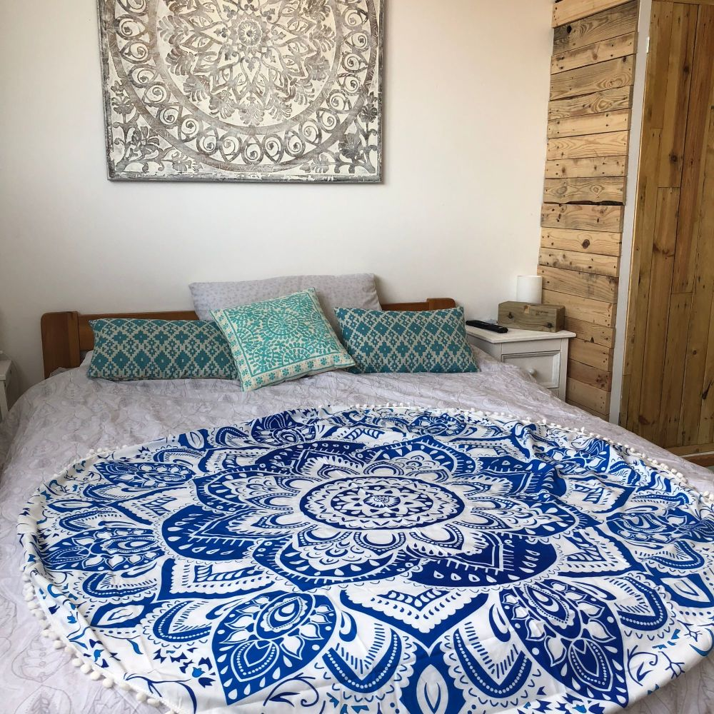 Blog Giveaway – Win a beautiful paisley print circle towel by Femme Luxe