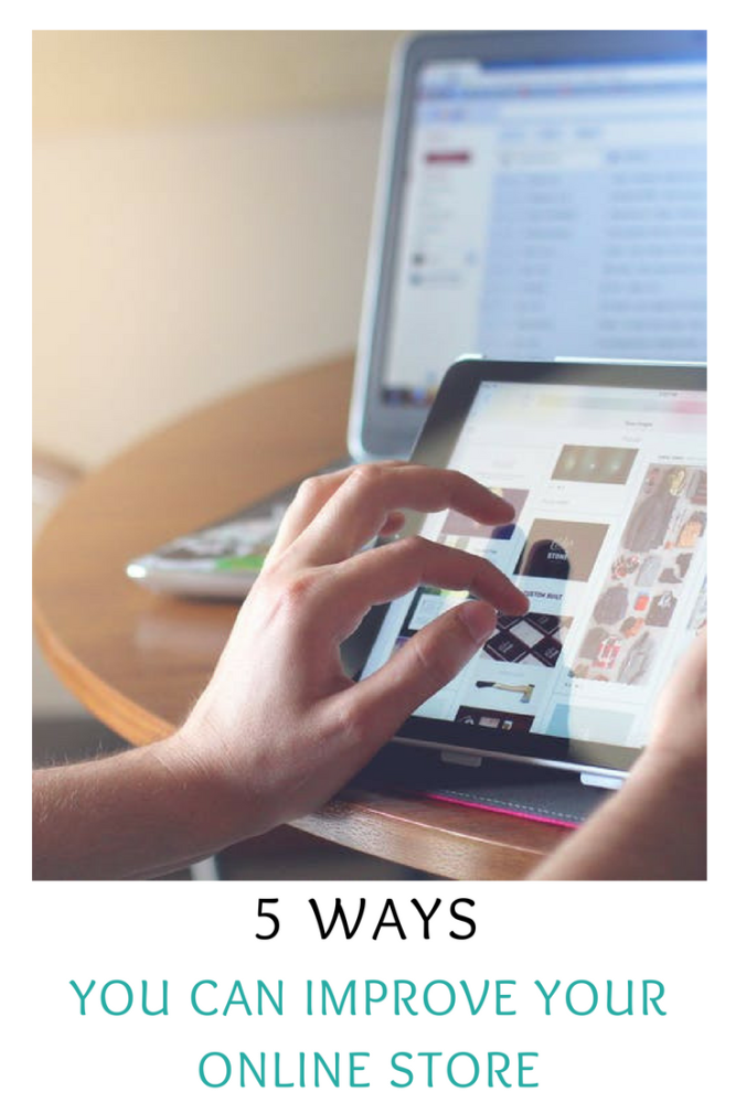 5 ways you can improve your online store