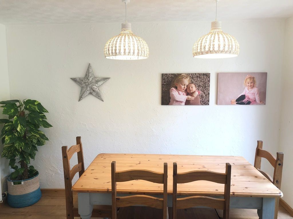 How to give your home a personal touch - my dining space