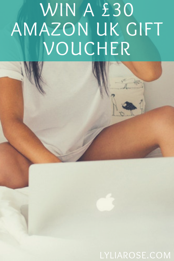 Win a £30 Amazon UK eGift voucher in my blog giveaway