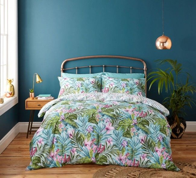 Refresh your entire bedroom with a duvet cover #YorkshireLinensBedroomChall