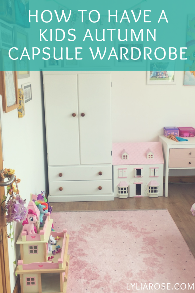 Autumn style staples for kids – how to have a capsule children's wardrobe