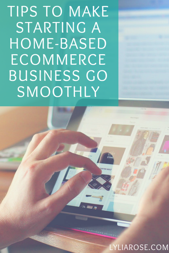 Tips to make starting a home-based ecommerce business go smoothly
