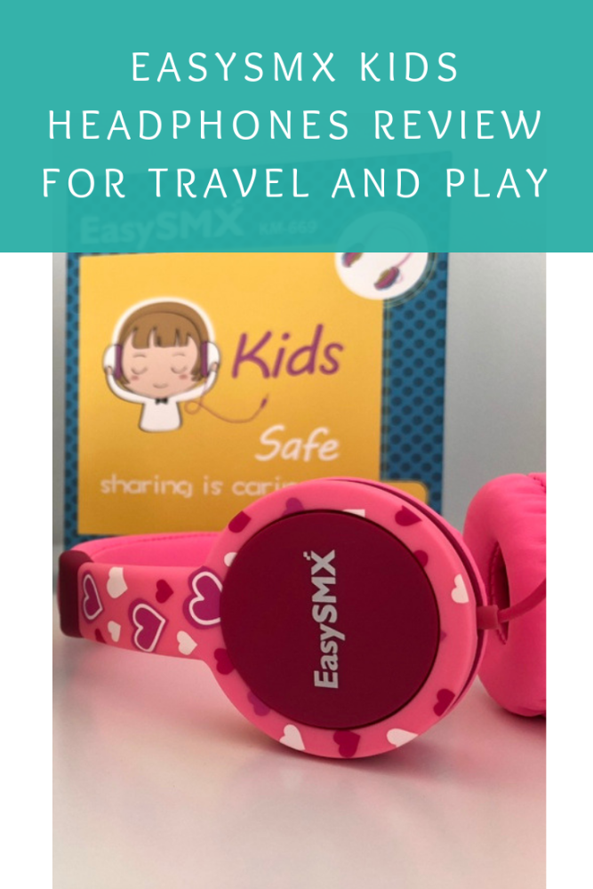 EasySMX kids headphones review for travel and play