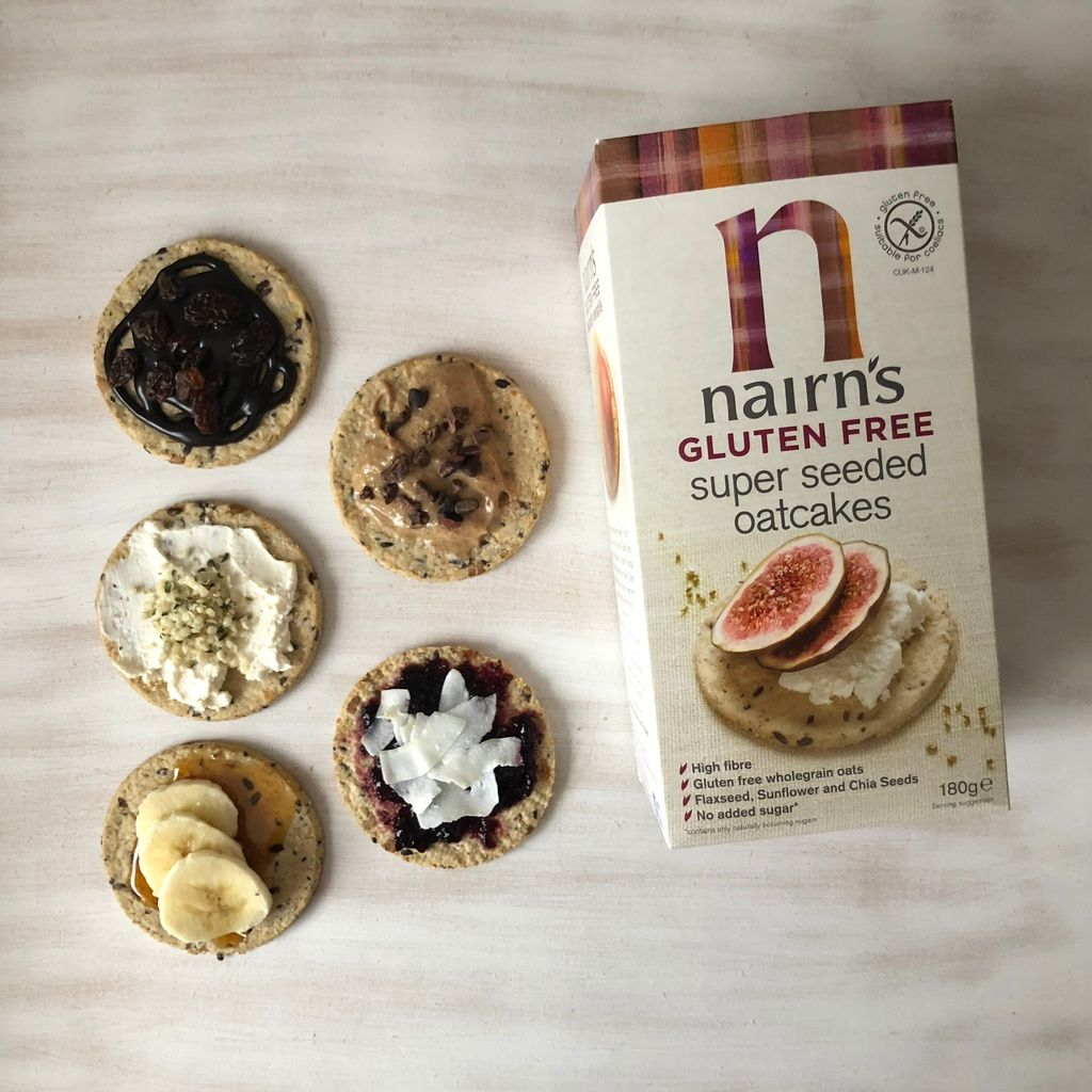 5 quick, easy and deliciously sweet vegan Nairns Oatcakes toppings