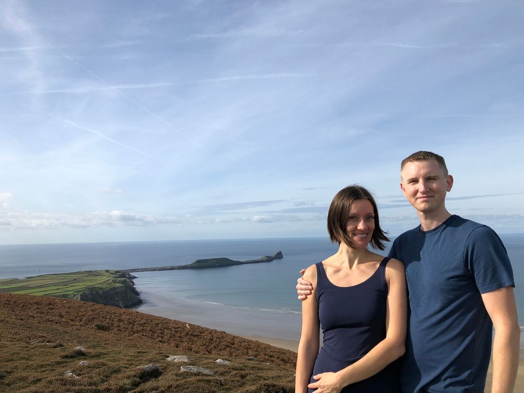 A last minute campervan camping trip to Rhossili Bay, Gower Peninsula, Wels