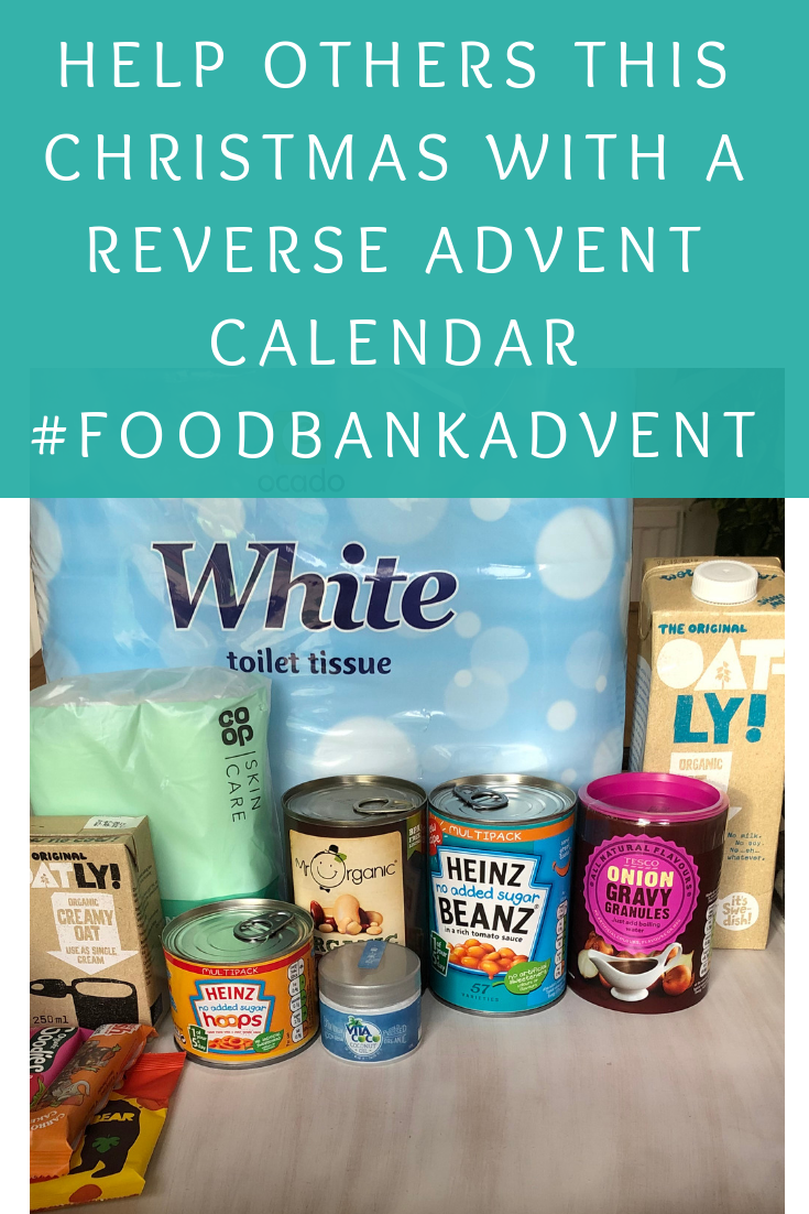 Help others this Christmas with a Reverse Advent Calendar #FoodBankAdvent