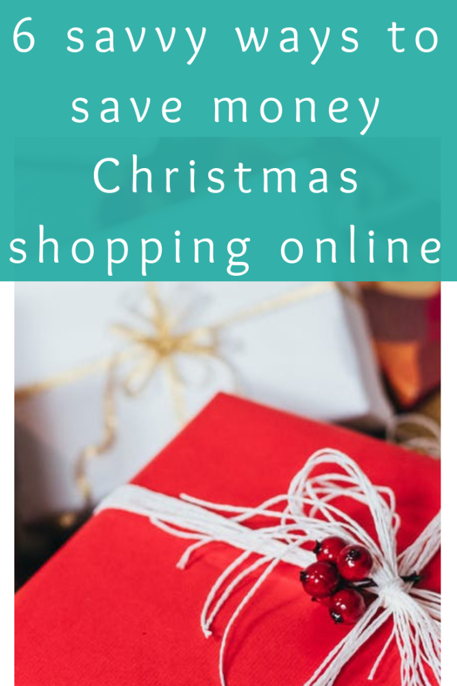 6 savvy ways to save money Christmas shopping online