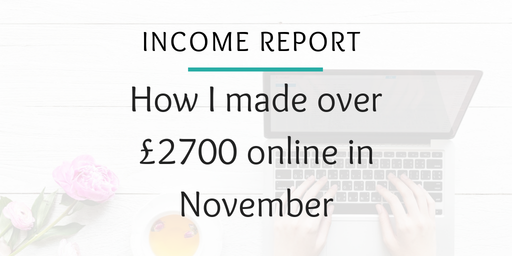 blogger Blog and Home Income Report NOVEMBER 2018 (2)