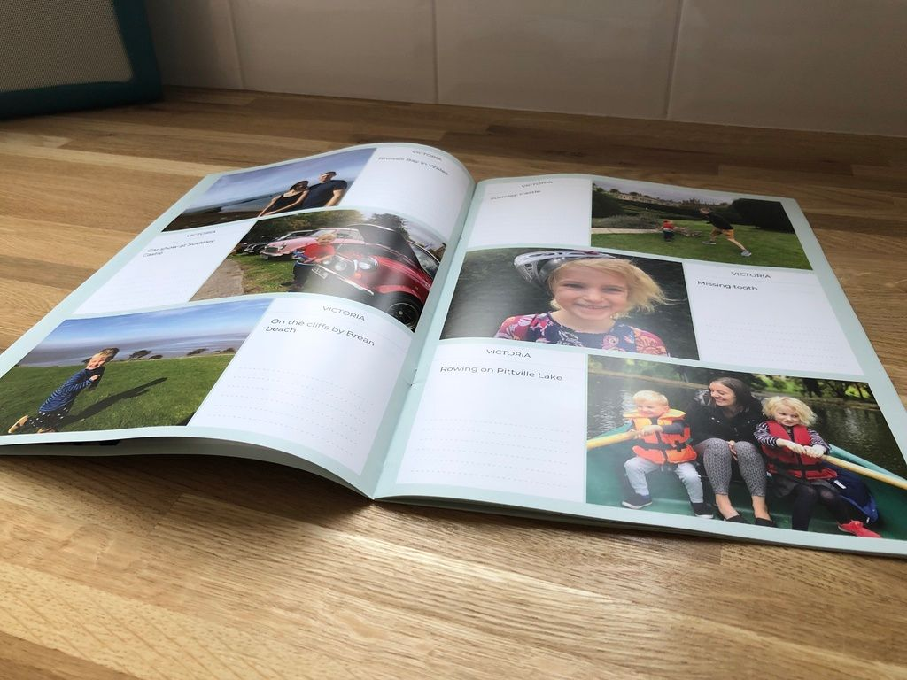 Neveo app review – easily send a family photo booklet to grandparents each
