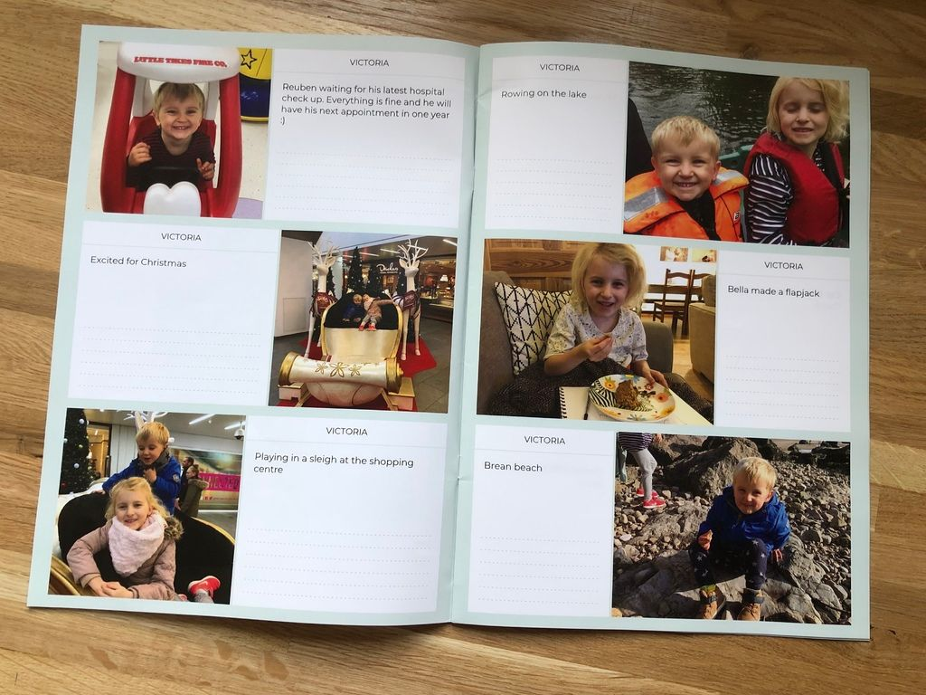 Neveo app review – easily send a family photo journal to grandparents each