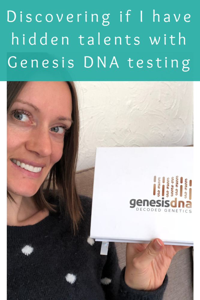 Discovering if I have any hidden talents with Genesis DNA testing