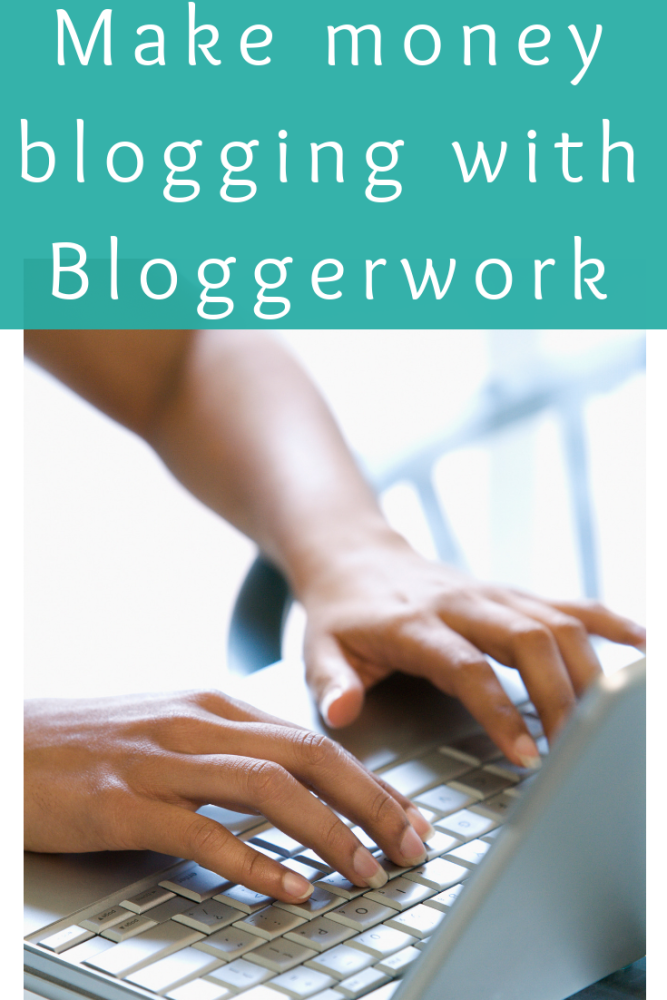 Make money blogging with Bloggerwork