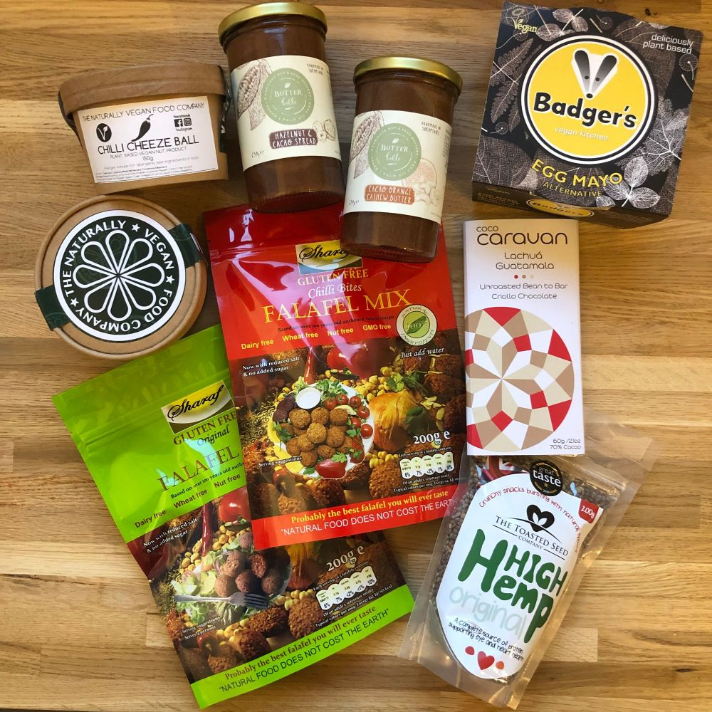 December 2018 monthly family roundup vegan food haul