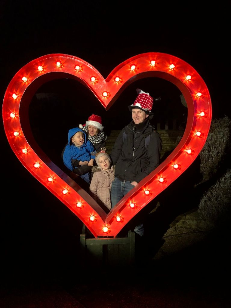 December 2018 monthly family roundup sudeley castle spectacle of light