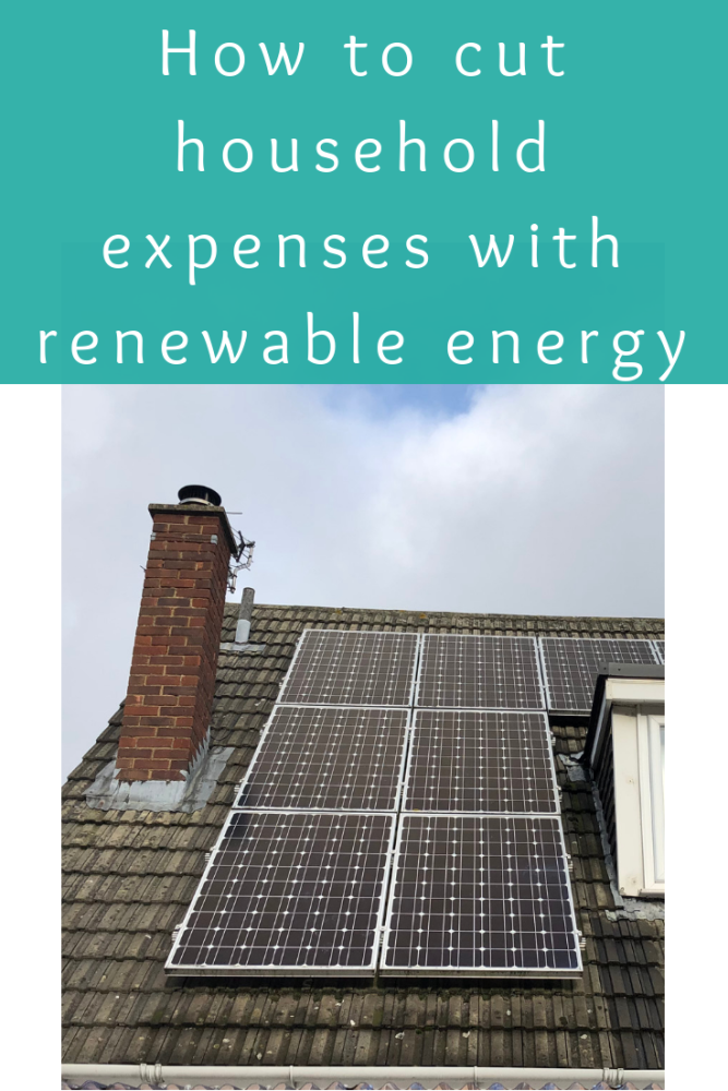 How to cut household expenses with renewable energy
