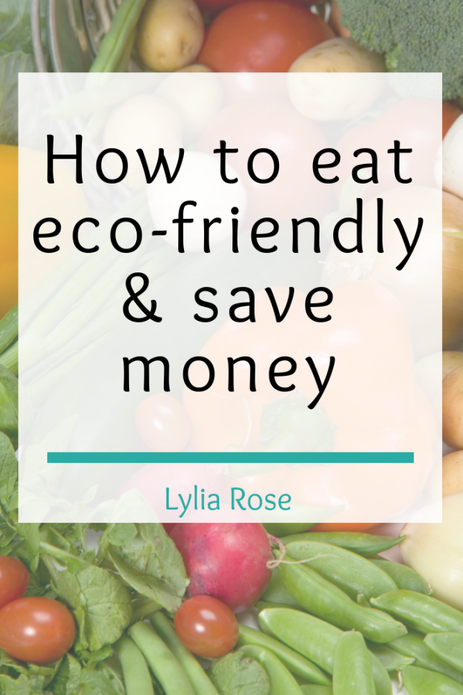 How to eat more eco-friendly and save money