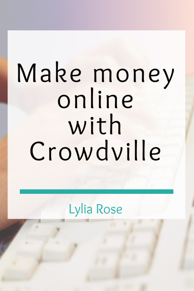 Make money online with Crowdville (1)