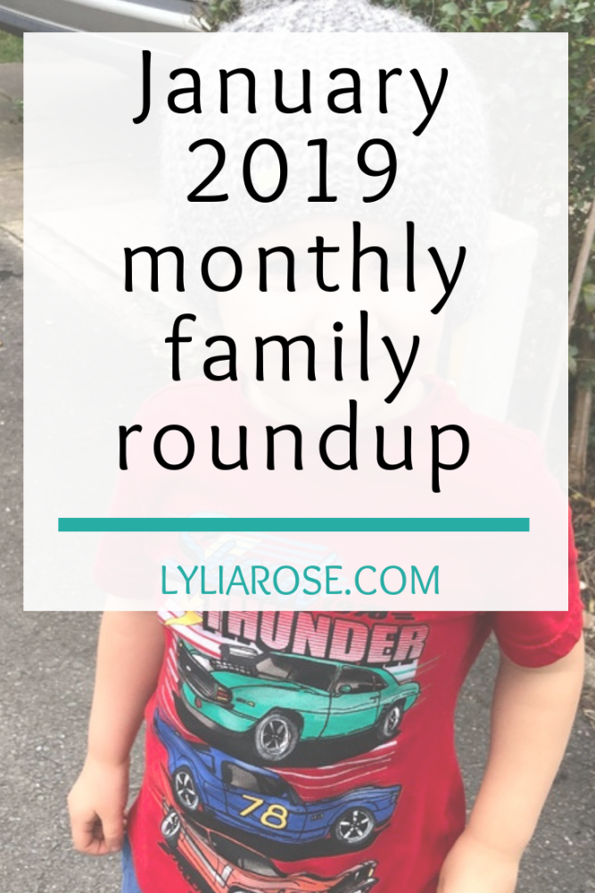 January 2019 mont__hly family roundup
