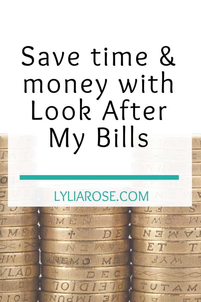 Save time and money with Look After My Bills