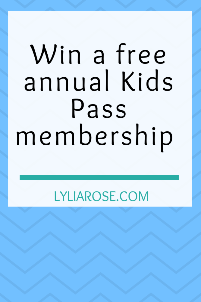 Blog giveaway – Win a free annual Kids Pass membership