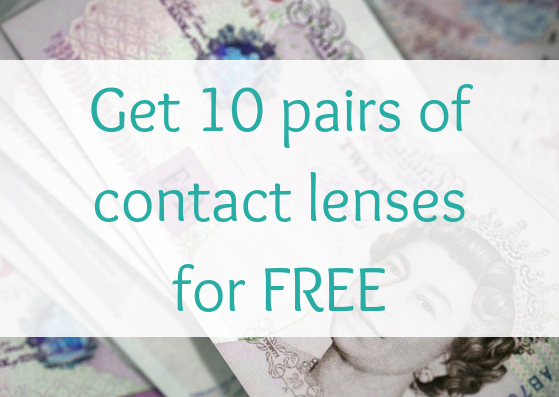 get free contact lenses